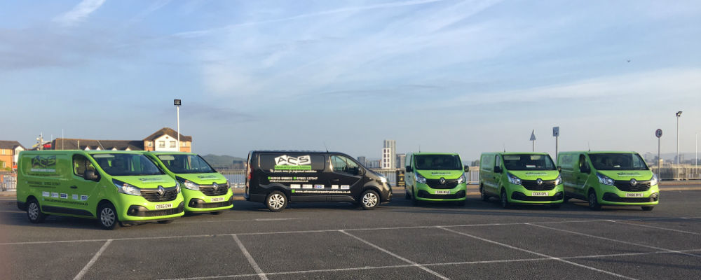 Photograph of Advanced Carpentry Solutions vans